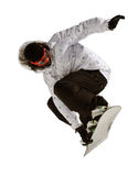 Snowboardförkläde Arkivfoto