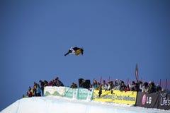 snowboarding κόσμος φλυτζανιών στοκ φωτογραφία με δικαίωμα ελεύθερης χρήσης