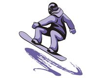 Snowboarding Stock Photography