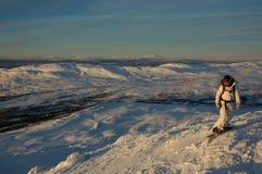 Snowboarding Στοκ εικόνα με δικαίωμα ελεύθερης χρήσης