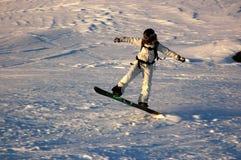Snowboarding Στοκ εικόνες με δικαίωμα ελεύθερης χρήσης