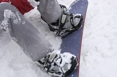 Snowboarding Imagem de Stock