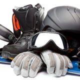 Snowboarding Στοκ Φωτογραφίες