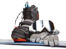 Snowboarding Στοκ φωτογραφίες με δικαίωμα ελεύθερης χρήσης