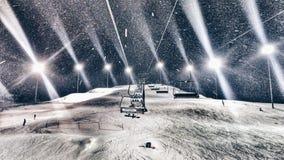 snowboarding royalty-vrije stock foto's