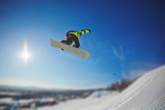snowboarding royalty-vrije stock afbeeldingen