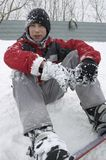 snowboarding Royaltyfria Bilder