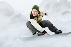 Snowboarding Royalty Free Stock Images