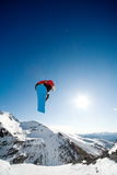 Snowboarding action Royalty Free Stock Photography