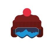 Snowboarding design Royalty Free Stock Photo