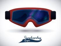 Snowboarding design, vector illustration. Stock Photo