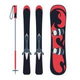 Snowboarding design, vector illustration. Stock Photography
