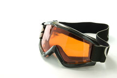Snowboarding glasses Royalty Free Stock Images