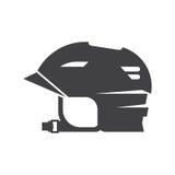 Snowboarding Helmet Vector Line Icon Stock Images