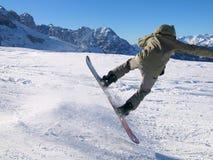 Snowboarding in Italy Royalty Free Stock Photos