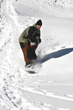Snowboarding Lesson Stock Images