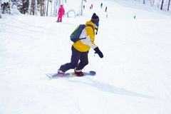 Snowboarding Royalty Free Stock Photos