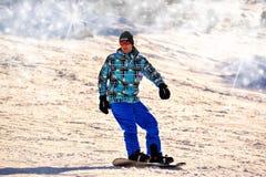 Snowboarding, Man, Winter Stock Image