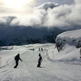 Snowboarding royalty free stock photography