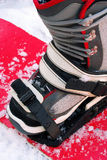 Snowboarding boot Royalty Free Stock Photo