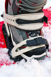Snowboarding boot Stock Photography