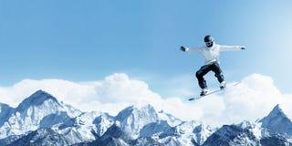 Snowboarding Royalty Free Stock Image