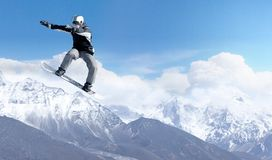 Snowboarding sport Stock Photography