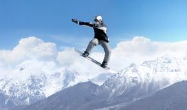 Snowboarding sport Royalty Free Stock Photos
