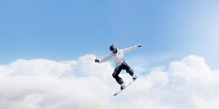 Snowboarding sport Royalty Free Stock Image