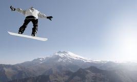 Snowboarding sport Stock Image