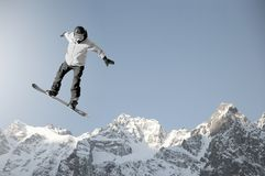 Snowboarding sport Royalty Free Stock Photo
