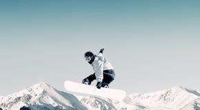 Snowboarding sport Royalty Free Stock Image