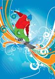 Snowboardist Royalty Free Stock Image