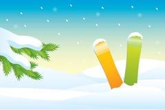 Snowboards Stock Image