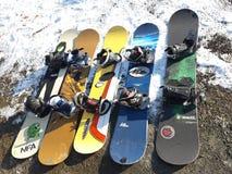 snowboards obraz stock