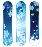 Snowboards Royalty Free Stock Photo
