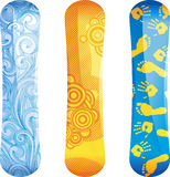 Snowboards Stock Photos