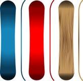 snowboards Fotografia Royalty Free