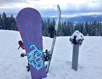 Snowboards Royalty Free Stock Images
