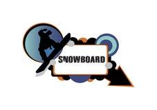 Snowboardsgreen Foto de archivo libre de regalías