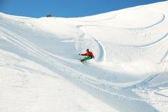 Snowboardsurfer Foto de Stock Royalty Free