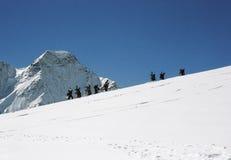 snowborders prowincji Fotografia Royalty Free