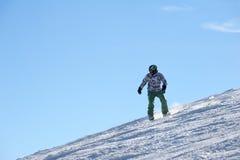 A snowbordist Royalty Free Stock Photo