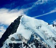 Snowbound mountain Royalty Free Stock Image