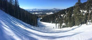 Snowbowl: Casino Ski Run Stock Images