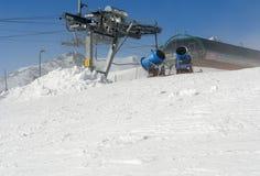Snowcanons. Royaltyfri Bild