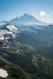 Snowcapped góra piekarz, Ptarmigan grań, stan washington Cascad Fotografia Royalty Free