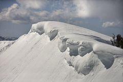 Snowcapped mountain. Stock Images