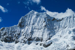 Snowcapped mountain Stock Images
