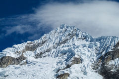 Snowcapped mountain Royalty Free Stock Photo
